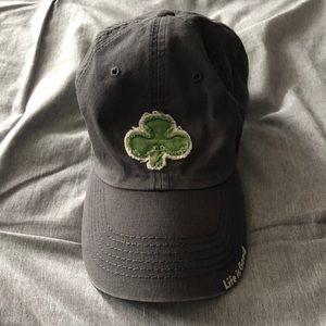 Life is Good Shamrock Hat